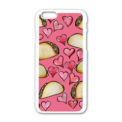 Taco Tuesday Lover Tacos Apple Iphone 6/6s White Enamel Case