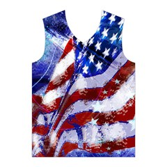 Flag Usa United States Of America Images Independence Day Men s Basketball Tank Top