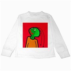 Looking up Kids Long Sleeve T-Shirts