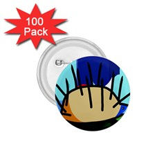 Hedgehog 1.75  Buttons (100 pack)