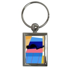 Jumping Key Chains (Rectangle)
