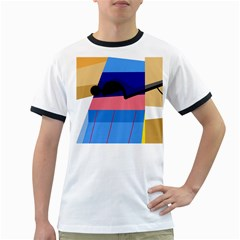Jumping Ringer T-Shirts