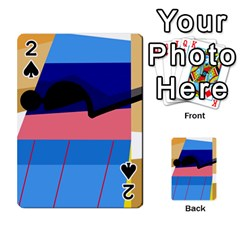 Jumping Playing Cards 54 Designs