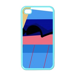 Jumping Apple iPhone 4 Case (Color)