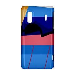 Jumping HTC Evo Design 4G/ Hero S Hardshell Case