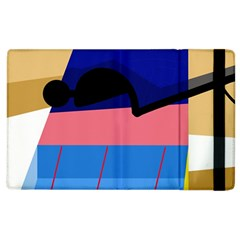 Jumping Apple iPad 3/4 Flip Case