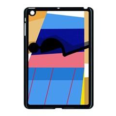 Jumping Apple iPad Mini Case (Black)