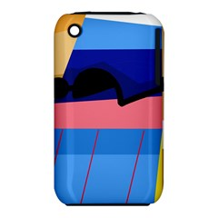 Jumping Apple iPhone 3G/3GS Hardshell Case (PC+Silicone)