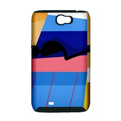 Jumping Samsung Galaxy Note 2 Hardshell Case (PC+Silicone)