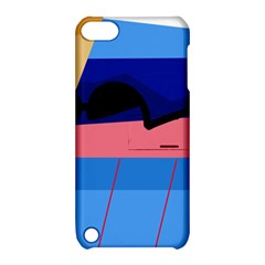 Jumping Apple iPod Touch 5 Hardshell Case with Stand