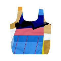 Jumping Full Print Recycle Bags (M)