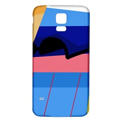 Jumping Samsung Galaxy S5 Back Case (White)