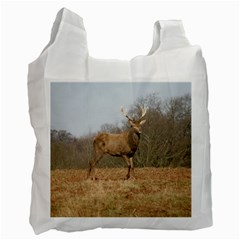 Red Deer Stag on a Hill Recycle Bag (One Side)