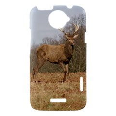 Red Deer Stag on a Hill HTC One X Hardshell Case