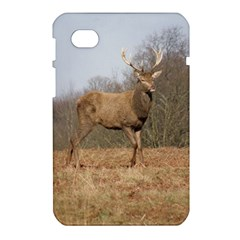 Red Deer Stag on a Hill Samsung Galaxy Tab 7  P1000 Hardshell Case