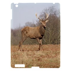 Red Deer Stag on a Hill Apple iPad 3/4 Hardshell Case