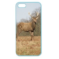 Red Deer Stag on a Hill Apple Seamless iPhone 5 Case (Color)