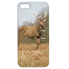 Red Deer Stag on a Hill Apple iPhone 5 Hardshell Case with Stand