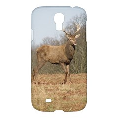 Red Deer Stag on a Hill Samsung Galaxy S4 I9500/I9505 Hardshell Case