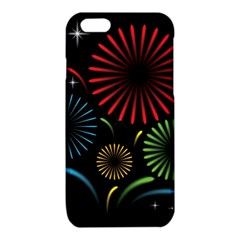 Fireworks With Star Vector iPhone 6/6S TPU Case