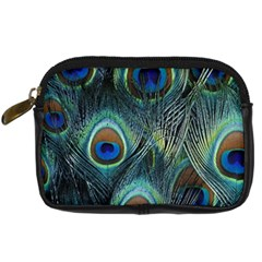Feathers Art Peacock Sheets Patterns Digital Camera Cases