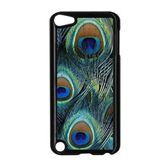Feathers Art Peacock Sheets Patterns Apple iPod Touch 5 Case (Black)