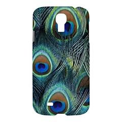 Feathers Art Peacock Sheets Patterns Samsung Galaxy S4 I9500/I9505 Hardshell Case