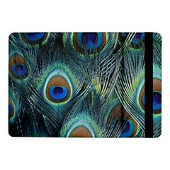 Feathers Art Peacock Sheets Patterns Samsung Galaxy Tab Pro 10.1  Flip Case