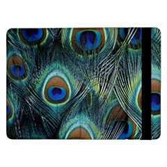 Feathers Art Peacock Sheets Patterns Samsung Galaxy Tab Pro 12.2  Flip Case
