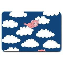 When Pigs Fly Large Doormat