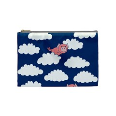 When Pigs Fly Cosmetic Bag (medium)
