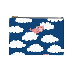 When Pigs Fly Cosmetic Bag (large)