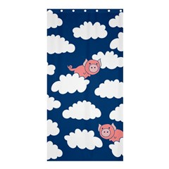 When Pigs Fly Shower Curtain 36  x 72  (Stall)