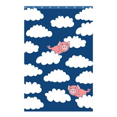 When Pigs Fly Shower Curtain 48  x 72  (Small)