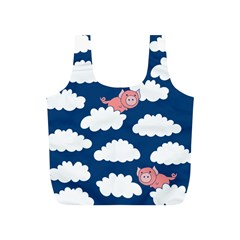 When Pigs Fly Full Print Recycle Bags (S)