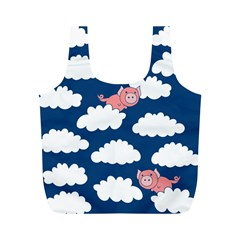 When Pigs Fly Full Print Recycle Bags (m)