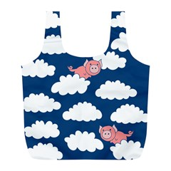 When Pigs Fly Full Print Recycle Bags (L)
