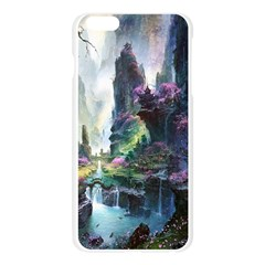 Fantastic World Fantasy Painting Apple Seamless iPhone 6 Plus/6S Plus Case (Transparent)