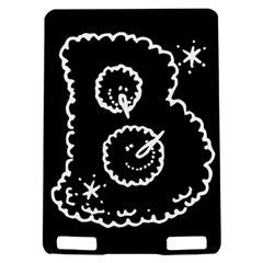 Funny Black And White Doodle Snowballs Kindle Touch 3G