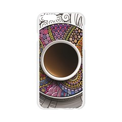 Ethnic Pattern Ornaments And Coffee Cups Vector Apple Seamless iPhone 6/6S Case (Transparent)