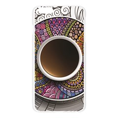 Ethnic Pattern Ornaments And Coffee Cups Vector Apple Seamless iPhone 6 Plus/6S Plus Case (Transparent)