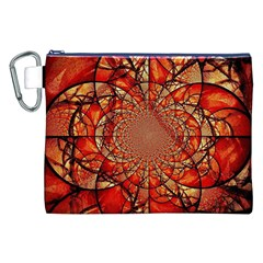 Dreamcatcher Stained Glass Canvas Cosmetic Bag (XXL)