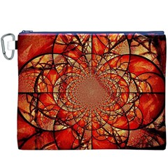 Dreamcatcher Stained Glass Canvas Cosmetic Bag (XXXL)