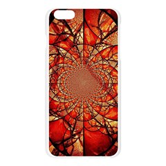 Dreamcatcher Stained Glass Apple Seamless iPhone 6 Plus/6S Plus Case (Transparent)