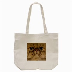 Cute Persian Cat,face In Closeup Tote Bag (Cream)