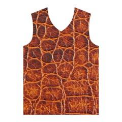 Crocodile Skin Texture Men s Basketball Tank Top