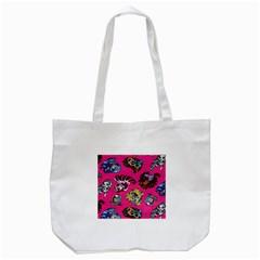 Large 1 Tote Bag (White)