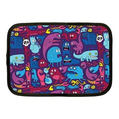 Mo Monsters Mo Patterns Netbook Case (Medium)