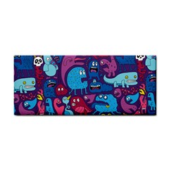 Mo Monsters Mo Patterns Hand Towel