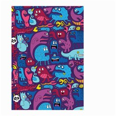 Mo Monsters Mo Patterns Small Garden Flag (Two Sides)